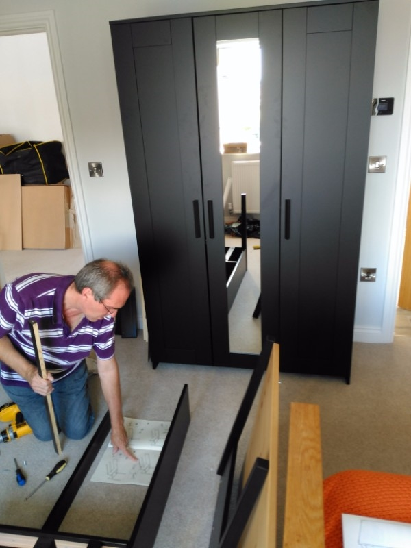 flat pack assembly Black Friars