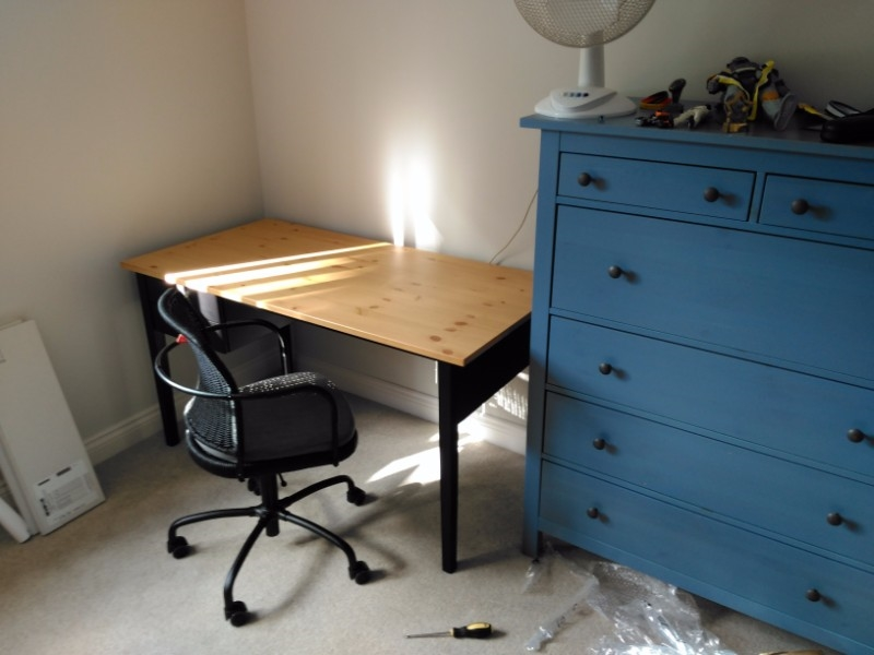 ikea desk chair and dresser assembly service in Knighton Fields