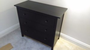 black hemnes chest assembly Leicestershire