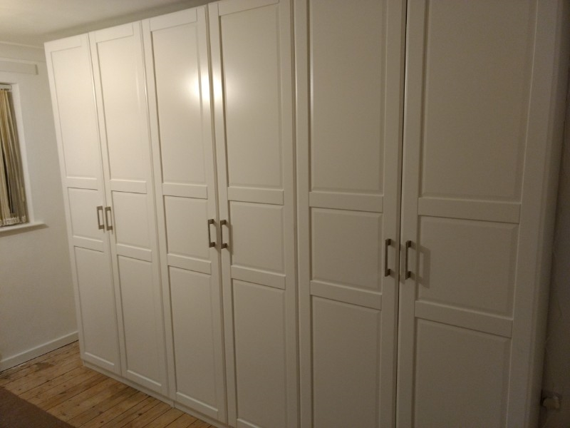 Clarendon Park pax wardrobe assembly