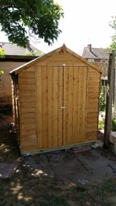 build a shed service Knighton Fields