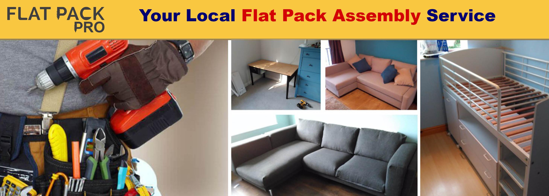 flat pack white furniture